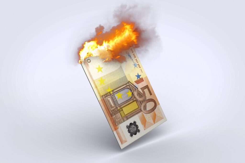 Die Inflation frisst Ihr Geld auf